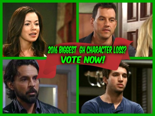 General Hospital POLL: Which Character Was GH's Biggest Loss In 2016 - Who Do You Miss The Most?