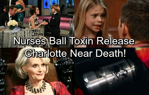 General Hospital Spoilers: Charlotte Near Death After Jake Unleashes Deadly Chimera Toxin at Nurses' Ball – Will She Survive?