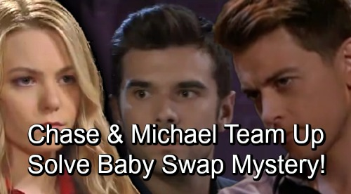 General Hospital Spoilers: Michael and Chase Bond - New Friends Combine Info, Solve Nelle Baby Swap Mystery