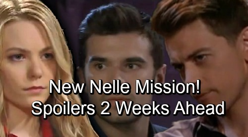 General Hospital Spoilers: Two Weeks Ahead - Chase Meets With Michael On New Nelle Mission, Uncovers Baby Swap Clues