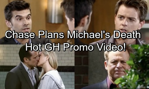General Hospital Spoilers: Hot GH Promo – Chase Plans Michael's Death - Scott Learns Kiki and Griffin's Secret