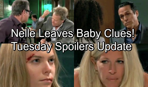 General Hospital Spoilers: Tuesday, August 7 Update – Nelle Leaves Baby Clues – Michael Has Key to Mom's Freedom
