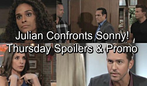 General Hospital Spoilers: Thursday, September 13 – Jordan Recast Debuts - Julian Confronts Sonny and Jason – Peter Shocks Lulu
