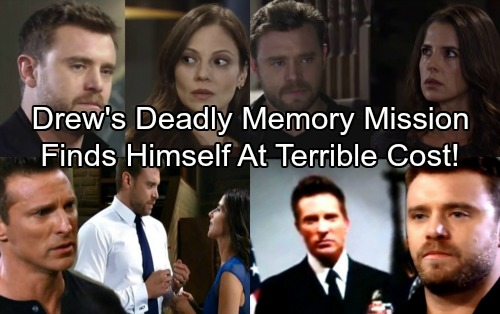 General Hospital Spoilers: Drew Risks All On Memory Recovery Mission - Desperation To Find Himself Leads To Danger