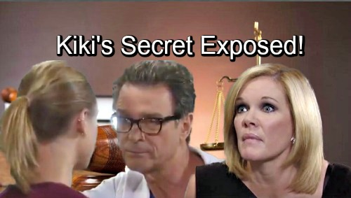 General Hospital Spoilers: Kiki's Secret Explodes in Court – Alexis Scrambles as Ava Seethes Over Griffin Hookup