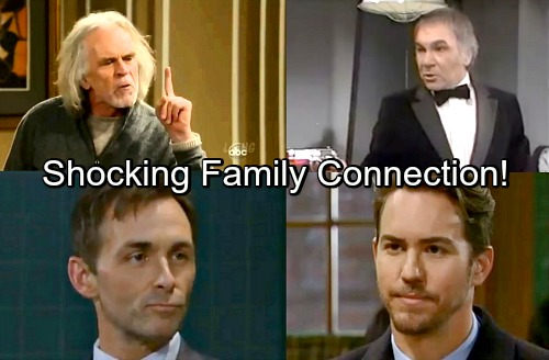 General Hospital Spoilers: See The Shocking Family Connection - Valentin and Peter Are Cousins