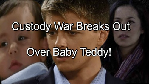 'General Hospital' Spoilers: Sabrina's Death Triggers Custody Battle Over Baby Teddy