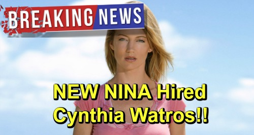 General Hospital Spoilers: Meet the New Nina – Cynthia Watros Revealed as Michelle Stafford's Replacement