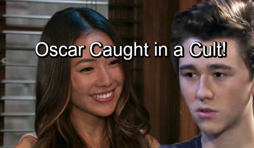 General Hospital Spoilers: Oscar Caught in a Cult, Druggie Daisy Makes More Trouble – Aimless Kristina Also at Risk