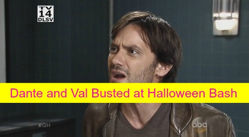 General Hospital (GH) Spoiler: Dante and Val Busted - Cheating Secret Revealed at Halloween Bash on Haunted Star!