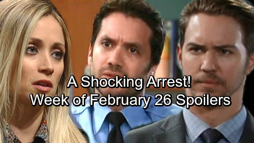 General Hospital Spoilers: Week of February 26-March 2 – Explosive Fights, Frustrated Plans and a Shocking Arrest