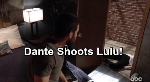 General Hospital Spoilers: Dante Shoots Lulu - Surprise Party Takes a Horrifying Turn