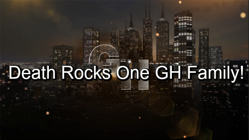 General Hospital Spoilers: Shocking Death Rocks One GH Family – Finn Can't Save Sick Father, Chase Plays the Blame Game?