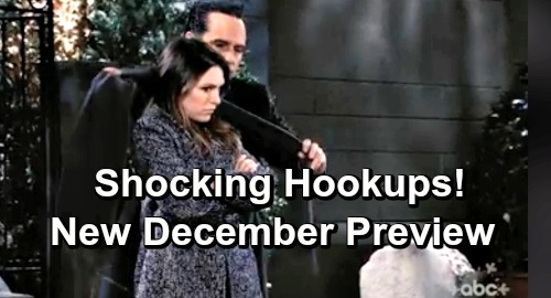 General Hospital Spoilers: GH December Preview Brings Cozy Romance – Frosty Moments – Unexpected Hookups