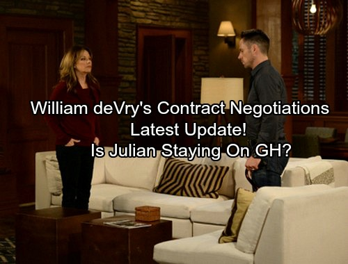 General Hospital Spoilers: Update on William deVry's Contract Negotiations - Is Julian Jerome Staying On GH?