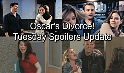 General Hospital Spoilers: Tuesday, October 23 Update – Kiki Meets Sasha, Ava Schemes – Oscar's Divorce – Liz Freaks at GH