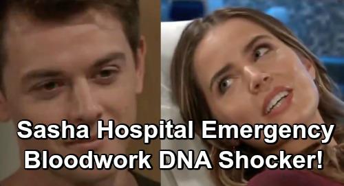 General Hospital Spoilers: Sasha's Hospital Emergency - DNA Shocker, Bloodwork Brings Suspicions at GH