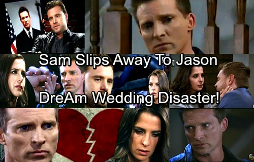 General Hospital Spoilers: Drew Watches Sam Slip Away To Jason - DreAm Wedding Disaster Ahead