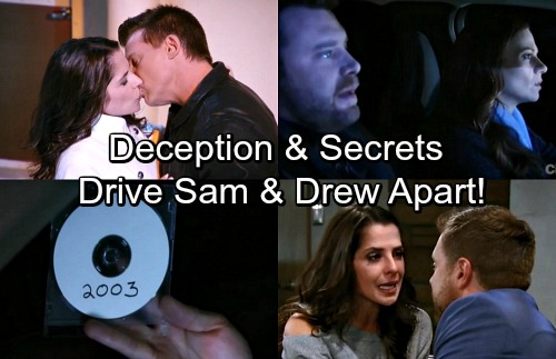 General Hospital Spoilers: Deception Drives Sam and Drew Apart – Shocking Secrets Push Couple to Breaking Point
