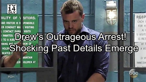 General Hospital Spoilers: Drew Arrested, Sam Tries to Beat Outrageous Charges – Shocking Details of Drew's Past Emerge