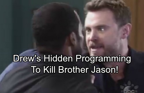 General Hospital Spoilers: Is Drew Programmed to Kill Jason – Stone Cold's Return Triggers Deadly Reaction