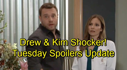 General Hospital Spoilers: Tuesday, November 13 Update – Carly's a Mess - Drew and Kim's Shocking Interruption