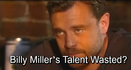 General Hospital Spoilers: Billy Miller's Talent Being Wasted - Drew Needs His Own Story and Love Interest?