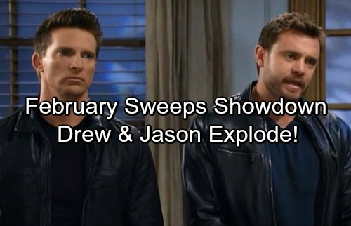 General Hospital Spoilers: Drew and Jason's Ultimate Showdown – Brothers Battle Over Faison and Sam
