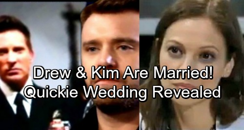 General Hospital Spoilers: Kim and Drew's Secret Marriage Revealed – Sam Shocked as Quickie Wedding Details Exposed