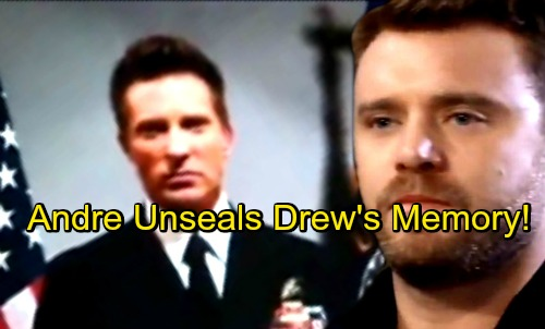 General Hospital Spoilers: Drew Finally Ready to Unlock His Past – Andre Steps Up for Risky Goal, Shocking Outcome