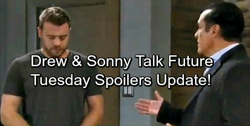 General Hospital Spoilers: Tuesday, December 26 Update – Drew Apologizes to Sonny – Nathan Panics Over Dad