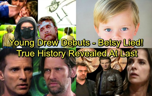 General Hospital Spoilers: Asher McDonell Cast As Young Drew - Betsy Lied, Franco's Drawings Reveal Drew's True History