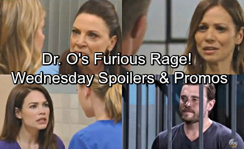 General Hospital Spoilers: Wednesday, May 30 – Kim Turns to Jason – Nina's News Enrages Dr. O – Liz Pushes Kiki to Act
