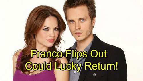 General Hospital Spoilers: Franco Returns To The Dark Side - Liz Driven Down New Romantic Path, Will Lucky Return?