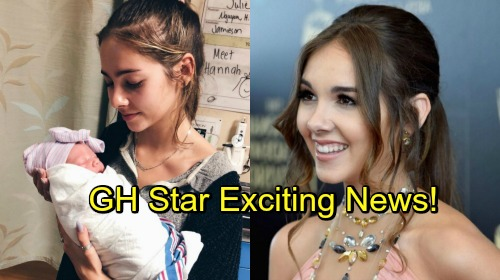 General Hospital Spoilers: GH Star Haley Pullos' Exciting News - Welcomes New Addition To Family