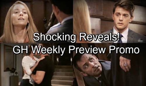 General Hospital Spoilers: Hot New Promo - Enemies, Exes, and Heat - New Weekly Video
