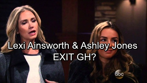 General Hospital Spoilers: Ashley Jones and Lexi Ainsworth GH Exit Reported - Parker and Kristina Set for Oregon Move