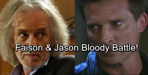 General Hospital Spoilers: Jason and Faison Go Head to Head In Bloody Battle