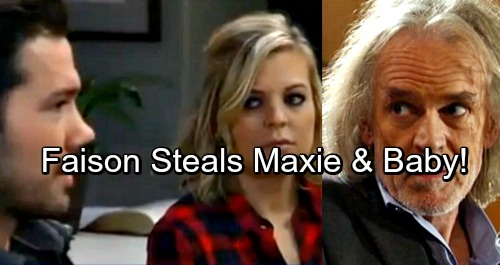 General Hospital Spoilers: Faison Steals Maxie and Nathan's Baby, Needs Grandchild to Carry on Dark Legacy