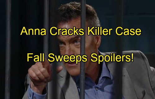 General Hospital Spoilers: Hot Fall Sweeps – Anna Nails Paul as GH Killer – Valentin Back, Morgan Exits – Nelle's Agenda Exposed