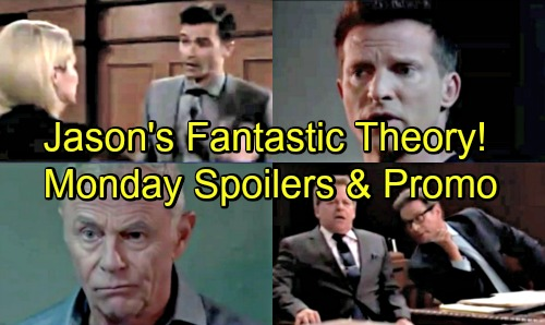General Hospital Spoilers: Monday, August 13 – Ava Slaps Griffin – Dr. Bensch Thrilled – Jason Joins Robert's Risky Mission