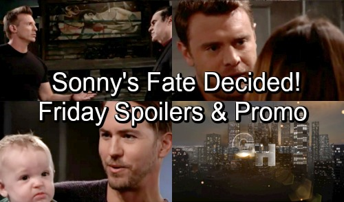 General Hospital Spoilers: Friday, October 19 – Peter's Wish Is Granted – Drew Decides Sonny's Fate – Grieving Michael Gets Advice