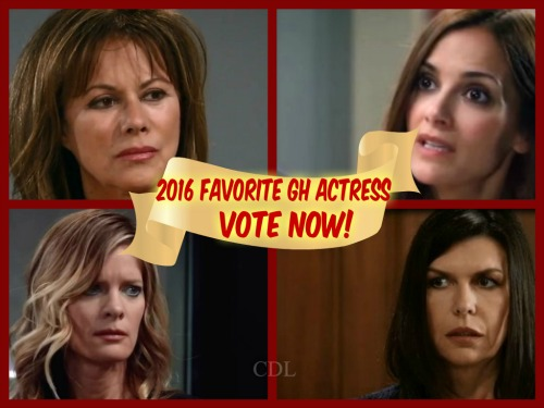 General Hospital Spoilers: Best GH Actress Poll – Vote for Your Favorite Female Performer in 2016