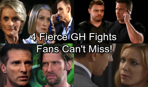General Hospital Spoilers: 4 Fierce Fights That GH Fans Won't Want to Miss – Rage and Shock Drive Conflict