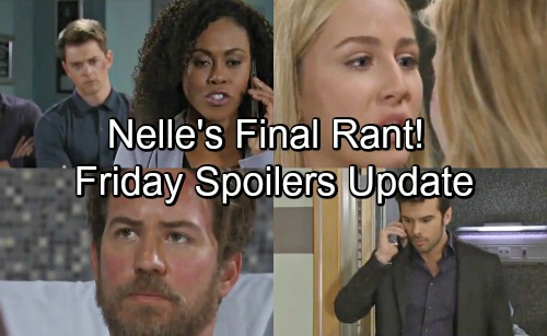 General Hospital Spoilers: Friday, August 3 Update – Chase's Frantic Search for Nelle – Josslyn's Rage Erupts – Jordan's Phone Call