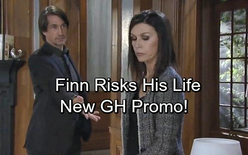 soap opera opiate of the General hospital (gh) spoilers reveal that anna devane (finola hughes) has no shortage of men willing to work with her, some more willing than others in a new gh promo video, valentin cassadine (james patrick stuart) informs anna of his former partner in crime, and new boss, cassandra pierce's.