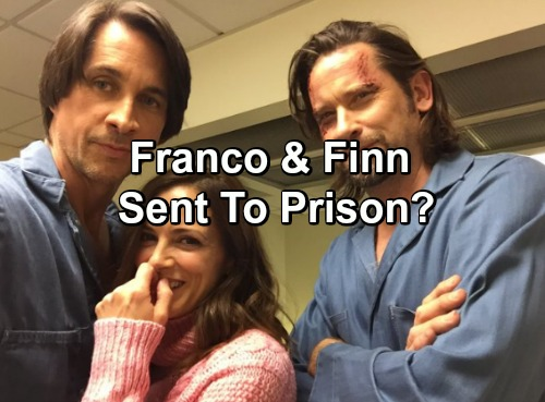 'General Hospital' Spoilers: GH Tweets Hints Finn and Franco Headed to Prison