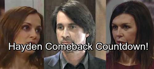 General Hospital Spoilers: Hayden and Baby Comeback Countdown Is On – Finn and Anna's Romance Doomed
