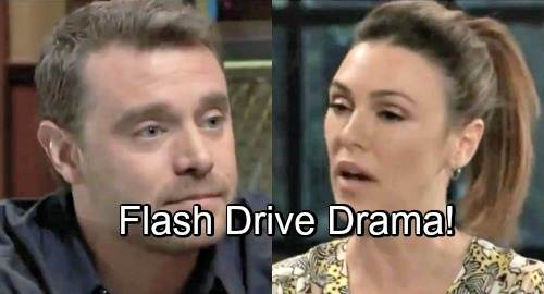 General Hospital Spoilers: Margaux Caught Red-Handed - How Does She Explain Flash Drive To Drew?