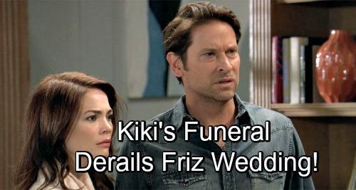 General Hospital Spoilers: Kiki's Funeral Derails Liz and Franco's Wedding - GH Head-Writer Reveals Final Fate of 'Friz'